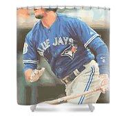 Toronto Blue Jays Troy Tulowitzki Shower Curtain