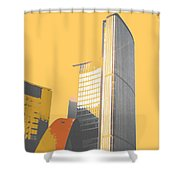 Toronto City Hall Arches Shower Curtain