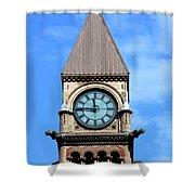 Toronto Clock Tower Shower Curtain