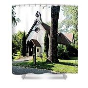 Toronto Island Chapel Shower Curtain