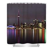 Toronto Lights Shower Curtain