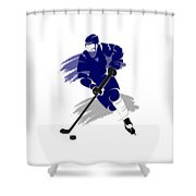 Toronto Maple Leafs Player Shirt Shower Curtain