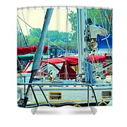 Toronto Nautical Shower Curtain