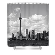 Toronto Skyline 11 Shower Curtain