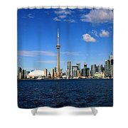 Toronto Skyline 26 Shower Curtain