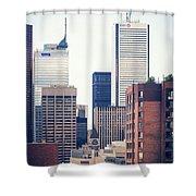 Toronto - Skyline Shower Curtain