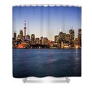 Toronto Sundown Shower Curtain