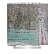 Toronto The Confused Shower Curtain