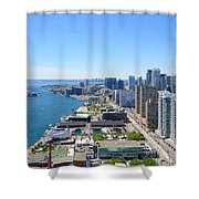 Toronto Waterfront Shower Curtain