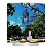 Toronto Wellington Street Park Shower Curtain