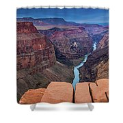 Toroweap Panorama Shower Curtain