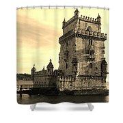 Torre De Belem Shower Curtain