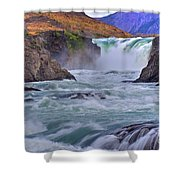 Torres Del Paine 001 Shower Curtain