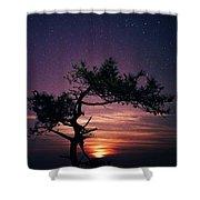 Torrey Pines Twinkle Twinkle Shower Curtain