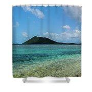 Tortola Waters Shower Curtain