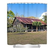 Tosohatchee Cattle Ranch In Central Florida Shower Curtain