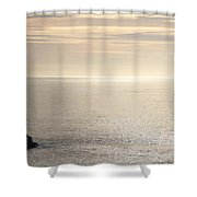 Total Peace Shower Curtain