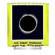 Totality II Shower Curtain