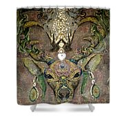 Totem Caribou  Shower Curtain