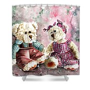 Toto Et Lolo Shower Curtain