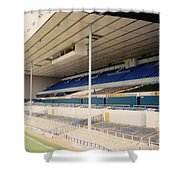Tottenham - White Hart Lane - East Stand 3 - April 1991 Shower Curtain