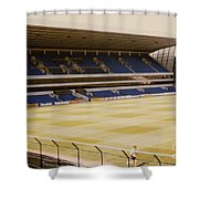 Tottenham - White Hart Lane - West Stand 2 - 1980s Shower Curtain