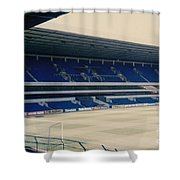 Tottenham - White Hart Lane - West Stand 3 - 1980s Shower Curtain