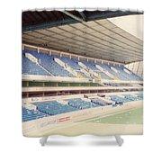 Tottenham - White Hart Lane - West Stand 4 - April 1991 Shower Curtain
