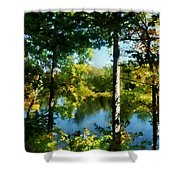 Touch Of Autumn Shower Curtain