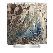 Touch Of Blue Shower Curtain