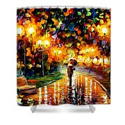 Touch Of Rain Shower Curtain