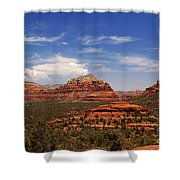 Touch The Earth Shower Curtain
