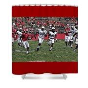 Rutgers Touchdown - Janarion Grant Shower Curtain