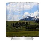 Touching Beauty Shower Curtain