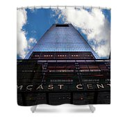 Touching The Sky - Comcast Center Shower Curtain