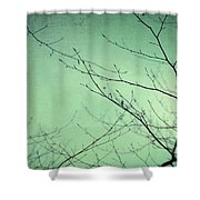 Touching The Sky Shower Curtain