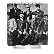 Tough Men Of The Old West Shower Curtain