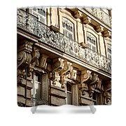 Toulouse Facade Shower Curtain