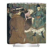 Toulouse-lautrec, 1892 Shower Curtain