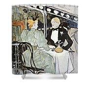 Toulouse-lautrec: Menu Shower Curtain