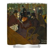 Toulouse-lautrec Moulin Rouge Shower Curtain