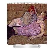 Toulouse Lautrec The Sofa Shower Curtain