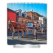 Touring The French Quarter Shower Curtain