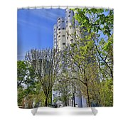 Tours Aillaud Building Shower Curtain