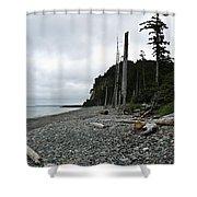 Tow Hill Haida Gwaii Bc Shower Curtain