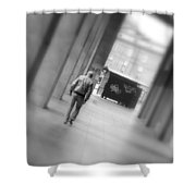Towards The End Shower Curtain