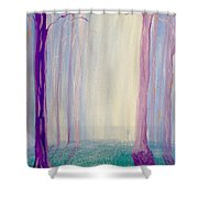Towards The Light. Shower Curtain