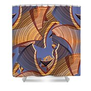 Towards The Sky Shower Curtain