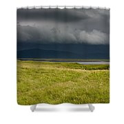 Towards Vatnajokull Shower Curtain