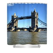 Tower Bridge 3 Shower Curtain